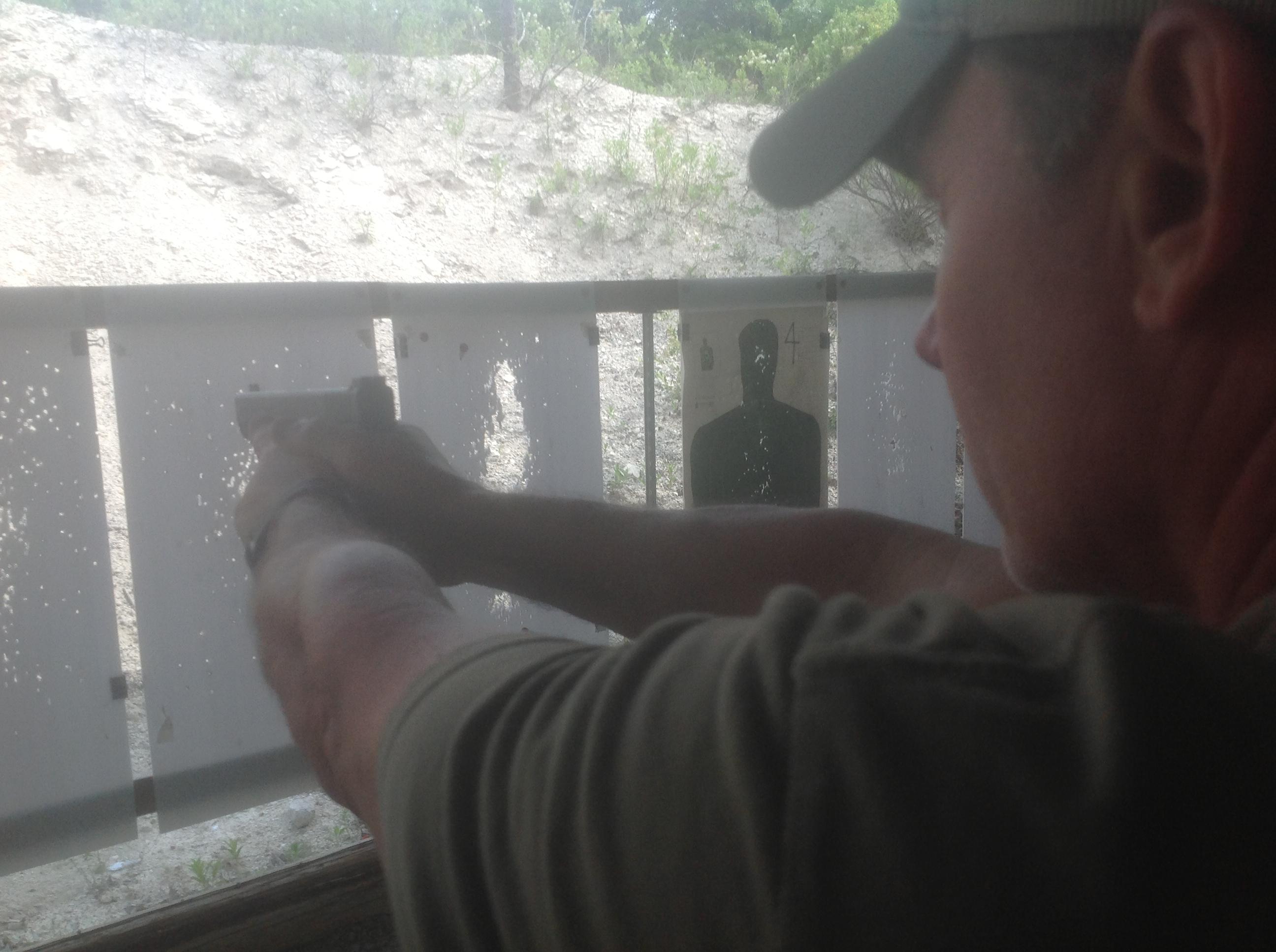 carrying a handgun